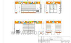 Дизайн проект детского магазина Емеля торговое оборудование КАРАМЕЛЬ Лист 12