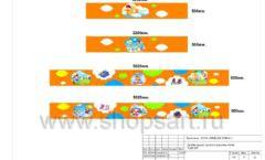 Дизайн проект детского магазина Емеля торговое оборудование КАРАМЕЛЬ Лист 13