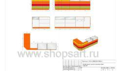 Дизайн проект детского магазина Емеля торговое оборудование КАРАМЕЛЬ Лист 14
