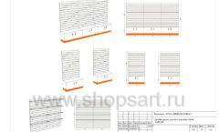 Дизайн проект детского магазина Емеля торговое оборудование КАРАМЕЛЬ Лист 15