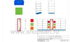 Дизайн проект детского магазина Емеля торговое оборудование КАРАМЕЛЬ Лист 22