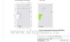 Дизайн проект детского магазина Емеля торговое оборудование КАРАМЕЛЬ Лист 24