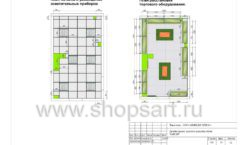 Дизайн проект детского магазина Емеля торговое оборудование КАРАМЕЛЬ Лист 25