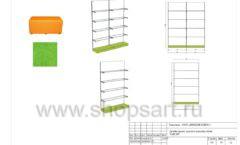 Дизайн проект детского магазина Емеля торговое оборудование КАРАМЕЛЬ Лист 28