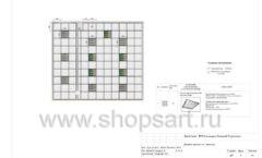 Дизайн проект детского магазина Волшебная прогулка торговое оборудование АКВАРЕЛИ Лист 06