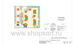 Дизайн проект детского магазина Волшебная прогулка торговое оборудование АКВАРЕЛИ Лист 08