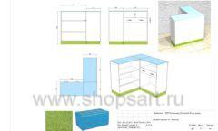 Дизайн проект детского магазина Волшебная прогулка торговое оборудование АКВАРЕЛИ Лист 11