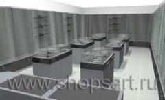 Торговое оборудование для магазинов оружия и рыбалки