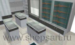 Торговое оборудование для оружия ОХОТА И РЫБАЛКА Калибр Дизайн 3