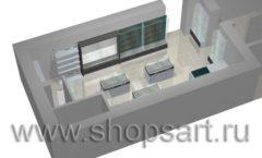 Торговое оборудование для оружия ОХОТА И РЫБАЛКА Калибр Дизайн 5