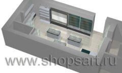 Торговое оборудование для оружия ОХОТА И РЫБАЛКА Калибр Дизайн 6