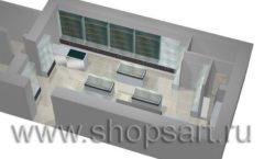 Торговое оборудование для оружия ОХОТА И РЫБАЛКА Калибр Дизайн 7