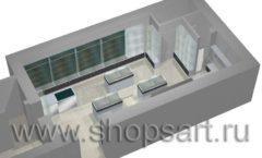 Торговое оборудование для оружия ОХОТА И РЫБАЛКА Калибр Дизайн 8