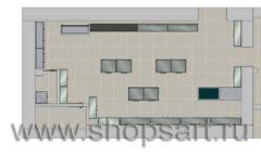 Торговое оборудование для оружия ОХОТА И РЫБАЛКА Калибр Дизайн 9