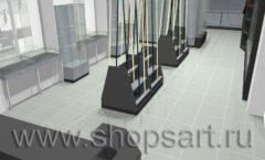 Торговое оборудование для рыбалки ОХОТА И РЫБАЛКА Охотник Дизайн 03