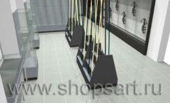 Торговое оборудование для рыбалки ОХОТА И РЫБАЛКА Охотник Дизайн 04