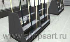 Торговое оборудование для рыбалки ОХОТА И РЫБАЛКА Охотник Дизайн 05