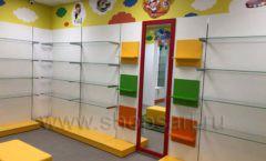 Торговое оборудование КАРАМЕЛЬ для детского магазина ЕМЕЛЯ Фото 01