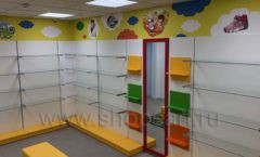 Торговое оборудование КАРАМЕЛЬ для детского магазина ЕМЕЛЯ Фото 03