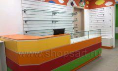 Торговое оборудование КАРАМЕЛЬ для детского магазина ЕМЕЛЯ Фото 09