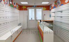 Торговое оборудование КАРАМЕЛЬ для детского магазина ЕМЕЛЯ Фото 12