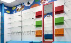 Торговое оборудование КАРАМЕЛЬ для детского магазина ЕМЕЛЯ Фото 19