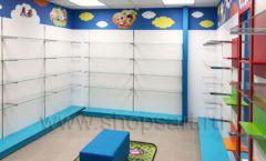 Торговое оборудование КАРАМЕЛЬ для детского магазина ЕМЕЛЯ Фото 20