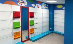 Торговое оборудование КАРАМЕЛЬ для детского магазина ЕМЕЛЯ Фото 21