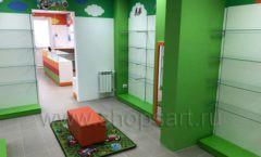 Торговое оборудование КАРАМЕЛЬ для детского магазина ЕМЕЛЯ Фото 27