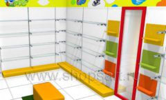 Торговое оборудование КАРАМЕЛЬ для магазина Емеля Дизайн 02
