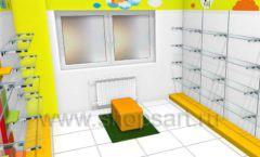 Торговое оборудование КАРАМЕЛЬ для магазина Емеля Дизайн 04