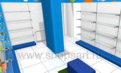 Торговое оборудование КАРАМЕЛЬ для магазина Емеля Дизайн 05