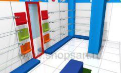 Торговое оборудование КАРАМЕЛЬ для магазина Емеля Дизайн 07