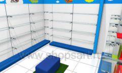 Торговое оборудование КАРАМЕЛЬ для магазина Емеля Дизайн 08