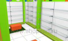 Торговое оборудование КАРАМЕЛЬ для магазина Емеля Дизайн 09