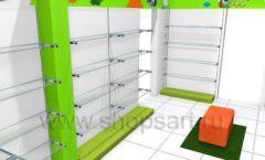 Торговое оборудование КАРАМЕЛЬ для магазина Емеля Дизайн 10
