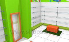 Торговое оборудование КАРАМЕЛЬ для магазина Емеля Дизайн 11