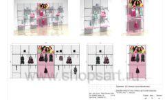 Дизайн проект детского магазина ACOO LIKE Дубна торговое оборудование РАДУГА Лист 10