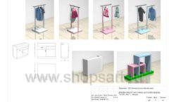 Дизайн проект детского магазина ACOO LIKE Дубна торговое оборудование РАДУГА Лист 11