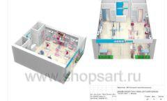 Дизайн проект детского магазина ACOO LIKE Дубна торговое оборудование РАДУГА Лист 14