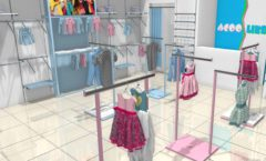 Торговое оборудование РАДУГА для детского магазина ACOO LIKE Дизайн 04