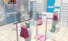 Торговое оборудование РАДУГА для детского магазина ACOO LIKE Дизайн 05