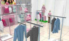 Торговое оборудование РАДУГА для детского магазина ACOO LIKE Дизайн 08