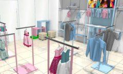 Торговое оборудование РАДУГА для детского магазина ACOO LIKE Дизайн 09
