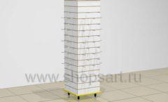 Стойка островная колонна экономпанели колесики торговое оборудование БИЖУЛЕНД