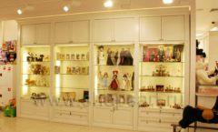 Торговое оборудование БЕЛАЯ КЛАССИКА для детского магазина Винни ТЦ Юнимолл Фото 01