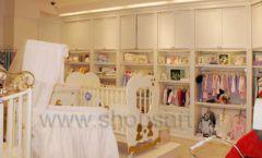 Торговое оборудование БЕЛАЯ КЛАССИКА для детского магазина Винни ТЦ Юнимолл Фото 03