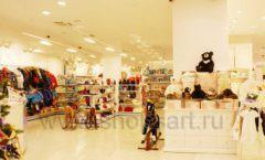 Торговое оборудование БЕЛАЯ КЛАССИКА для детского магазина Винни ТЦ Юнимолл Фото 05