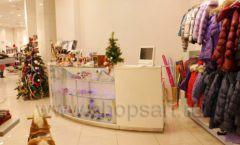 Торговое оборудование БЕЛАЯ КЛАССИКА для детского магазина Винни ТЦ Юнимолл Фото 12