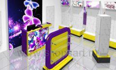 Торговое оборудование БИЖУЛЕНД магазина бижутерии Дизайн 01